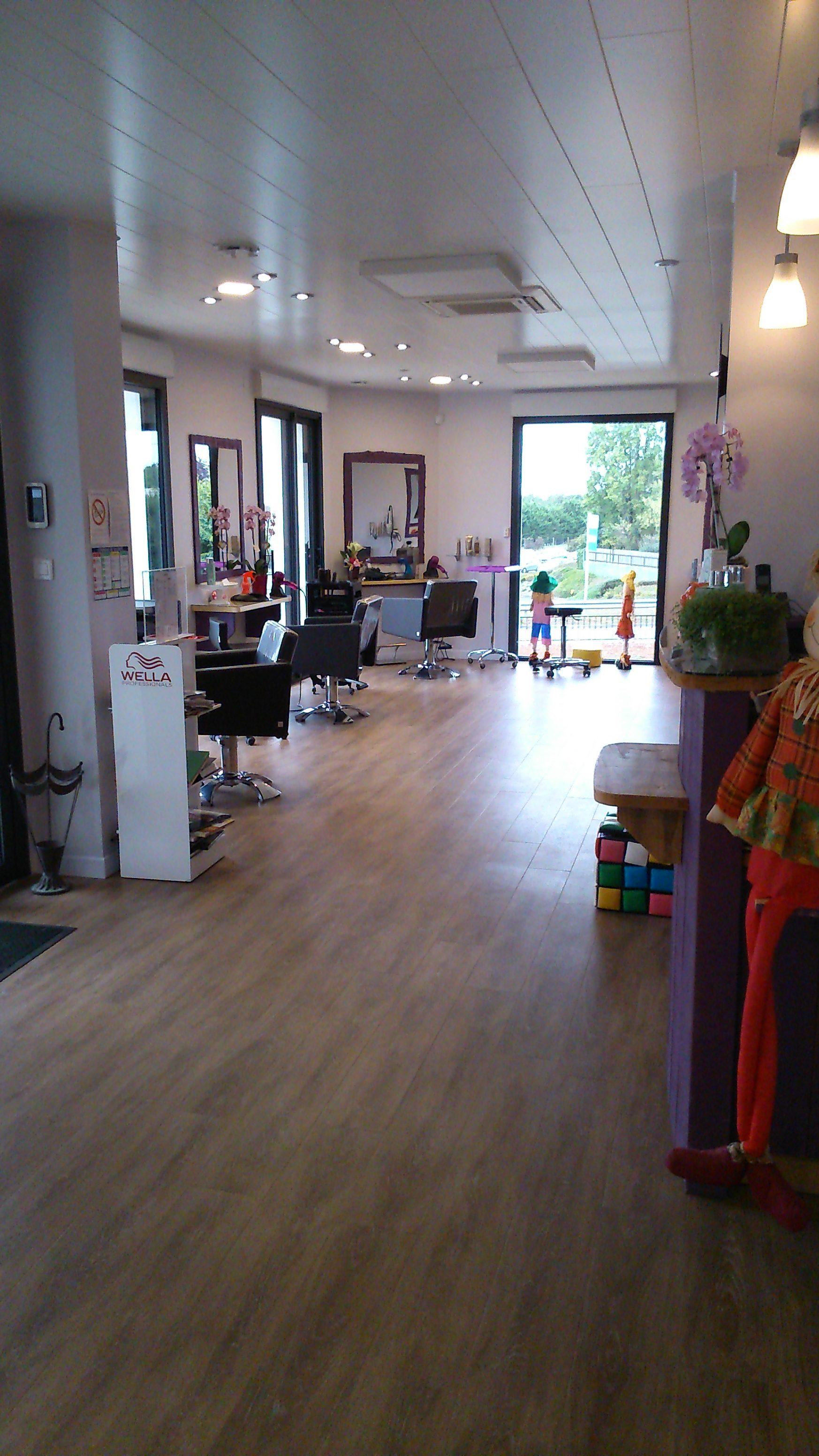 L'intérieur du nouveau salon