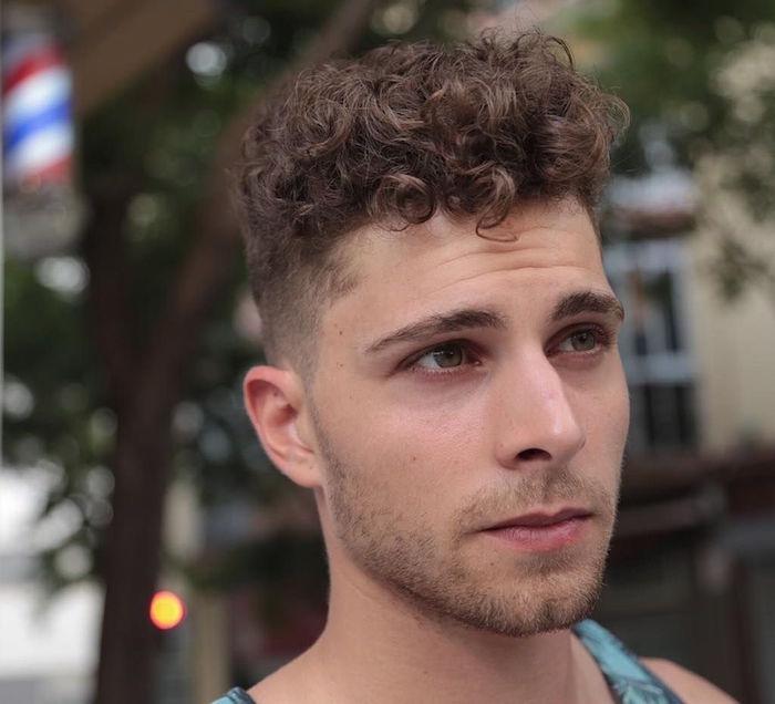coiffure homme : nos astuces pour les cheveux frisés - douce
