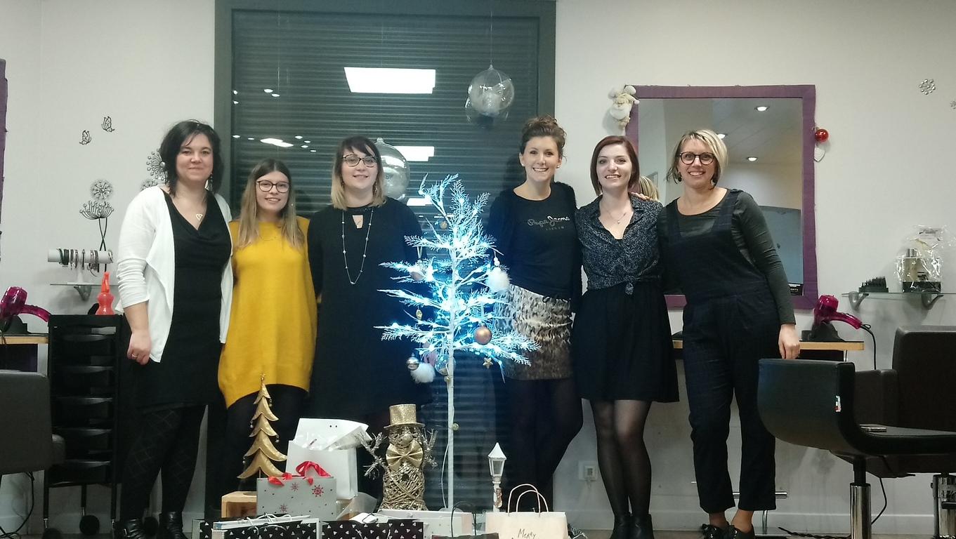 L'équipe en 2021 (Manuela, Tifenn, Amandine, Marjorie, Léa et Laetitia)